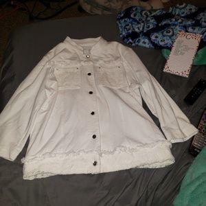 Jackets & Blazers - Lace jacket